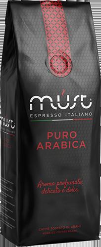 Must Puro Arabica kaffebonner 1000g