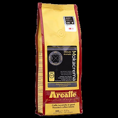 Arcaffè Mokacrema kaffebønner 500g