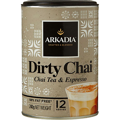 Arkadia Dirty Chai with Espresso pulver 240g