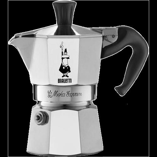 Bialetti Moka Express Espressokande 2 kopper