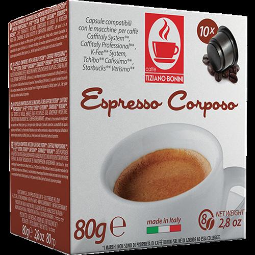 Caffè Bonini Corposo Caffitaly kaffekapsler 10st