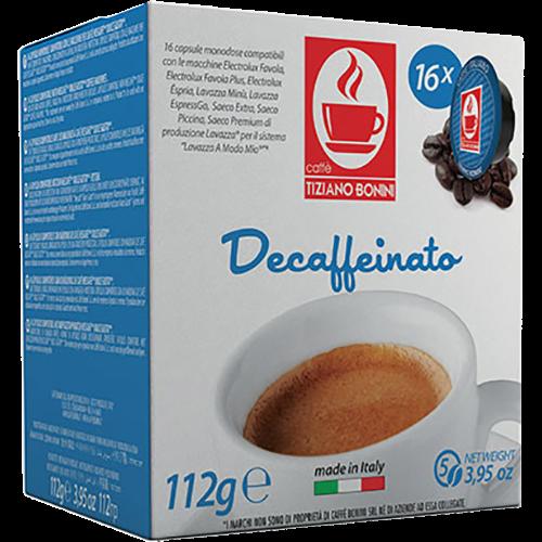 Caffè Bonini Decaffeinato A Modo Mio kaffekapsler 16st