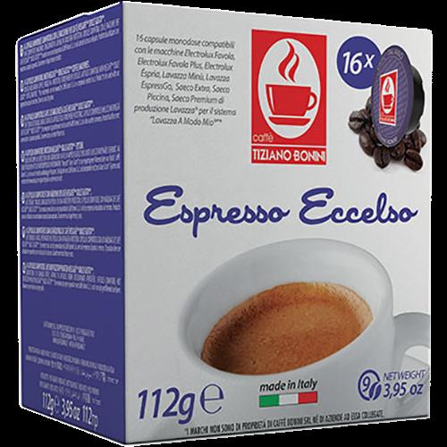 Caffè Bonini Eccelso A Modo Mio kaffekapsler 16st