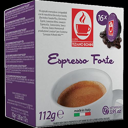 Caffè Bonini Forte A Modo Mio kaffekapsler 16st
