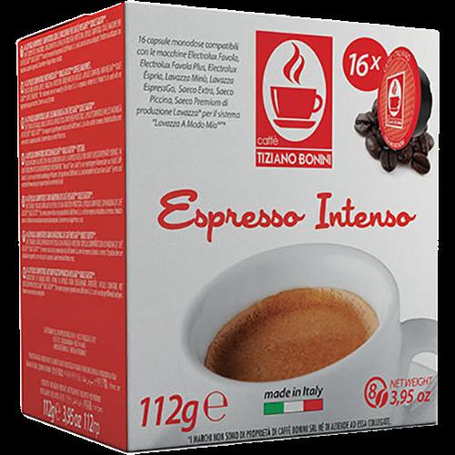 Caffè Bonini Intenso A Modo Mio kaffekapsler 16st