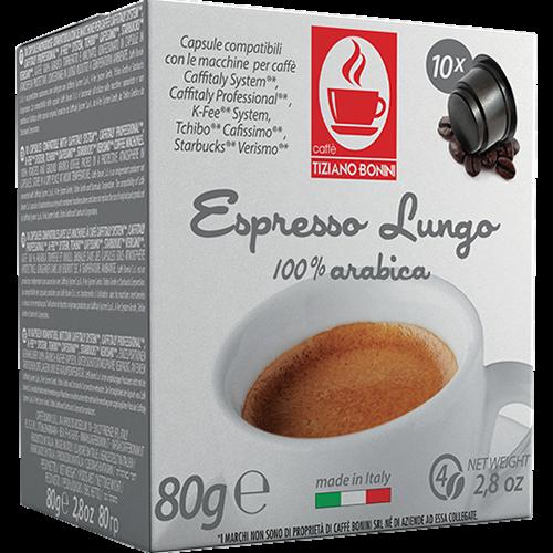 Caffè Bonini Lungo kaffekapslar till Caffitaly 10st