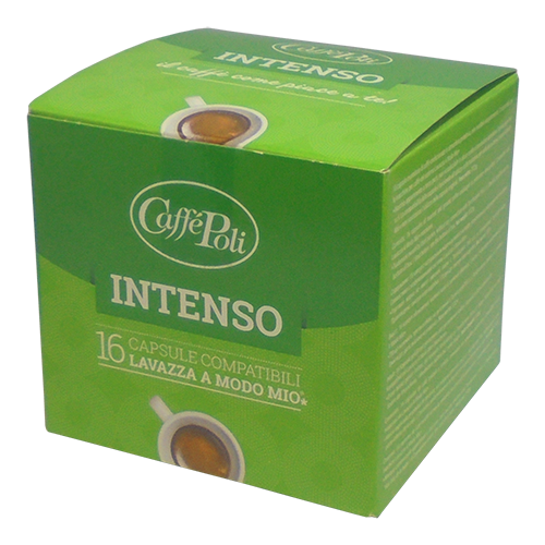 Caffè Poli A Modo Mio Intenso kaffekapsler 16st