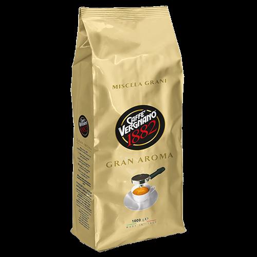 Caffè Vergnano Gran Aroma kaffebønner 1000g