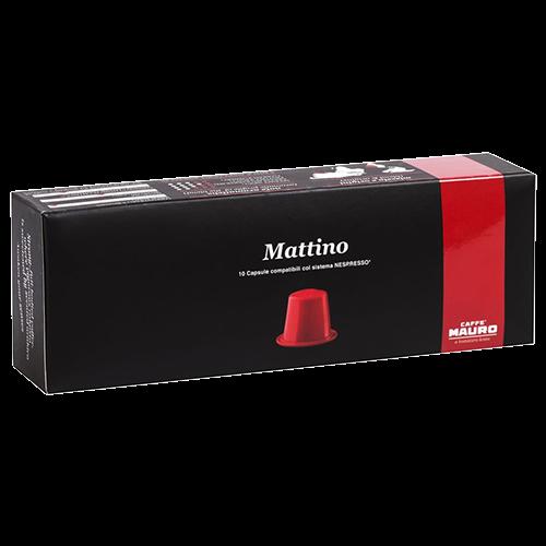 Caffè Mauro Mattino kaffekapsler til Nespresso 10st
