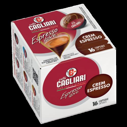Cagliari Crem Espresso A Modo Mio kaffekapsler 16st
