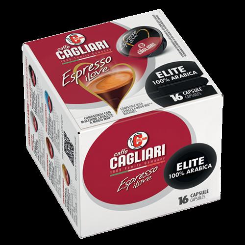 Cagliari Elite A Modo Mio kaffekapsler 16st