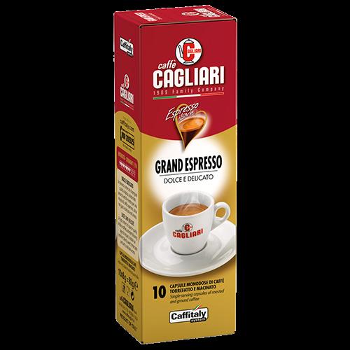 Cagliari Grand Espresso Caffitaly kaffekapsler 10st