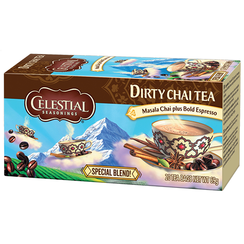 Celestial tea Dirty Chai tebreve 20st