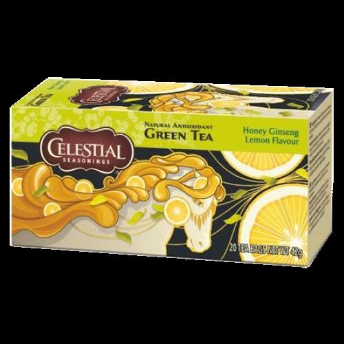 Celestial tea Honey Ginseng Lemon tebreve 20st utgånget datum