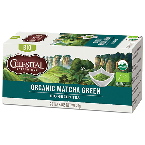 Celestial tea Organic Matcha Green tebreve 20st