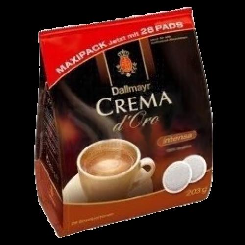 Dallmayr Crema d'Oro intensa kaffepuder 28st