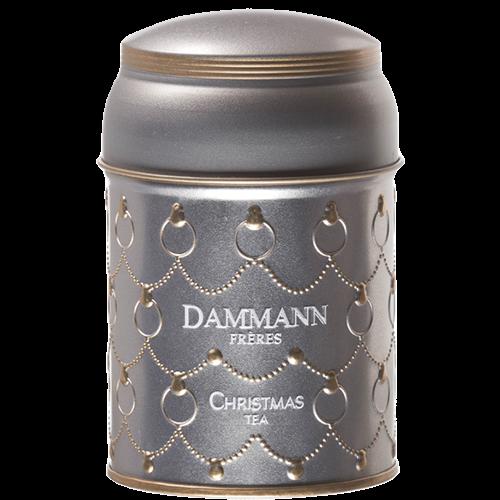 Dammann Frères Hvid Jule-Te  i løs vægt 50g