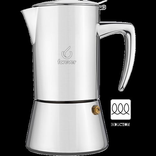 Forever Miss Diamond Espressokande Induktion 4 kopper