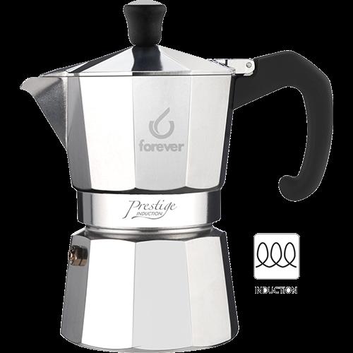 Forever Prestige Espressokande Induktion 12 kopper