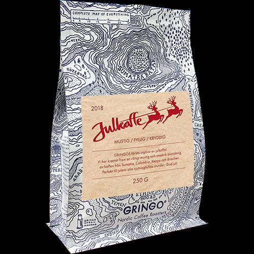 Gringo Julekaffe 2018 kaffebønner 250g