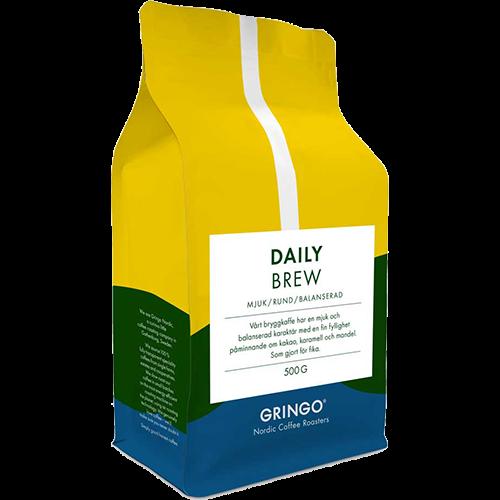 Gringo Daily Brew kaffebønner 500g