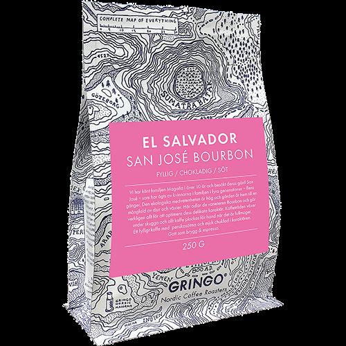 Gringo El Salvador San José Bourbon kaffebønner 250g