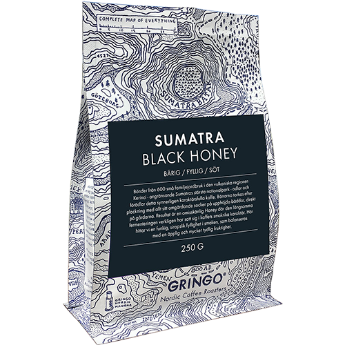 Gringo Sumatra Black Honey kaffebønner 250g