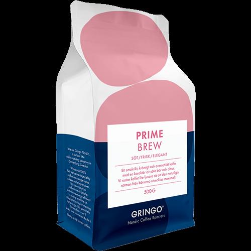 Gringo Prime Brew kaffebønner 500g