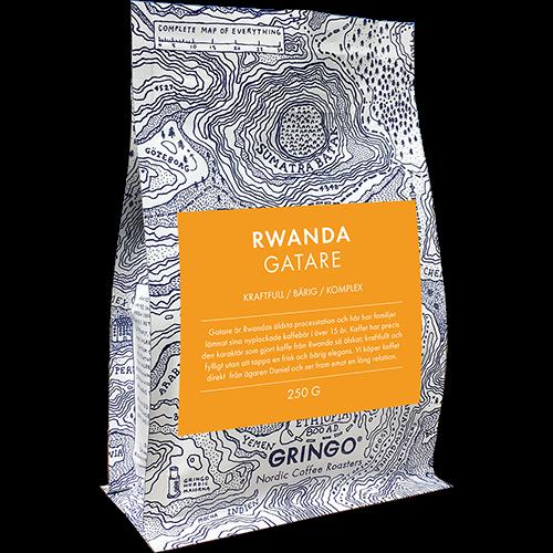Gringo Rwanda Gatare kaffebønner 250g