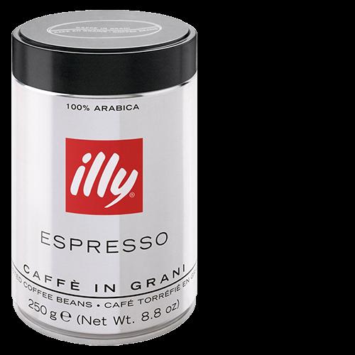 illy Espresso mørkristet dåse kaffebønner 250g x12