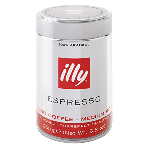 illy Espresso dåse formalet kaffe 250g