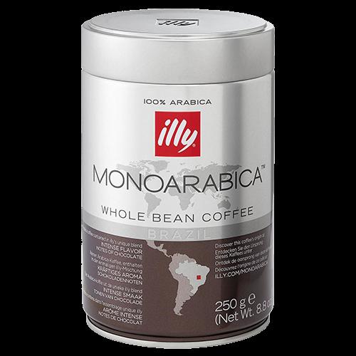 illy Espresso Monoarabica Brazil kaffebønner 250g