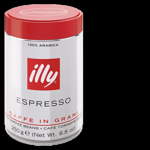 illy Espresso dåse kaffebønner 250g x12