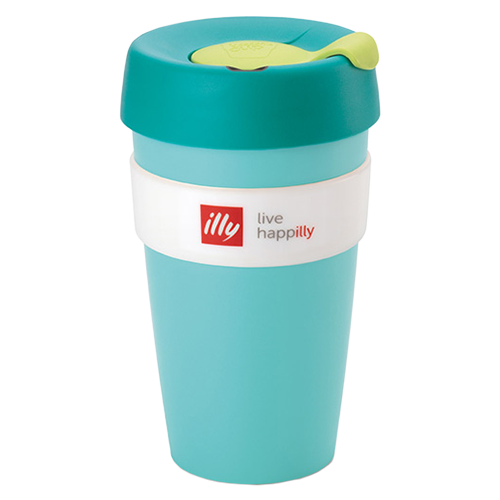 illy live happilly KeepCup kaffekop grøn 454ml
