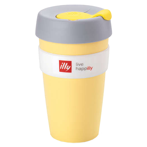 illy live happilly KeepCup kaffekop gul 454ml