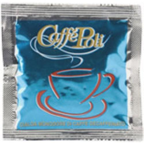 Caffè Poli Decaffeinato blå koffeinfria E.S.E kaffepods 1st