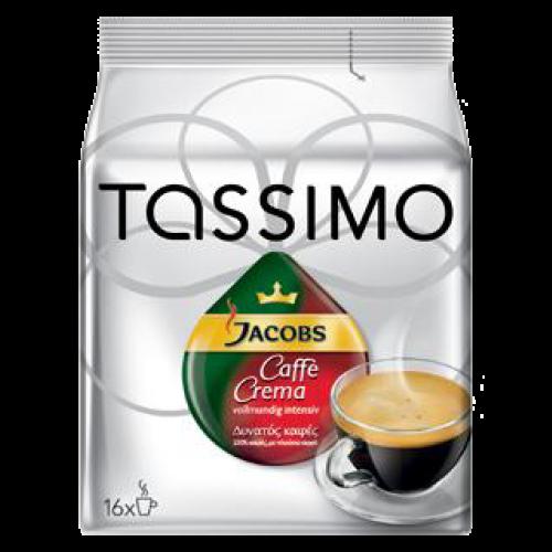 Jacobs Caffè Crema intensiv Tassimo kaffekapsler 16st