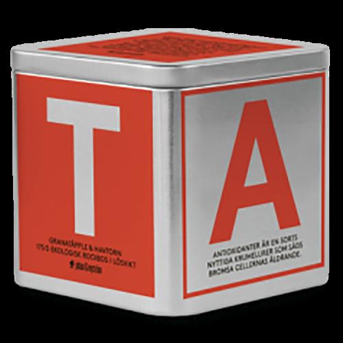 Johan & Nyström T-Te Granatäpple & Havtorn Ekologisk rooibos te i løs vægt 175g