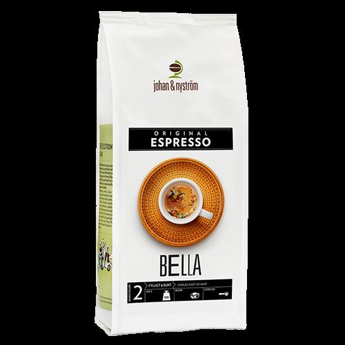 johan & nyström Espresso Bella kaffebønner 500g
