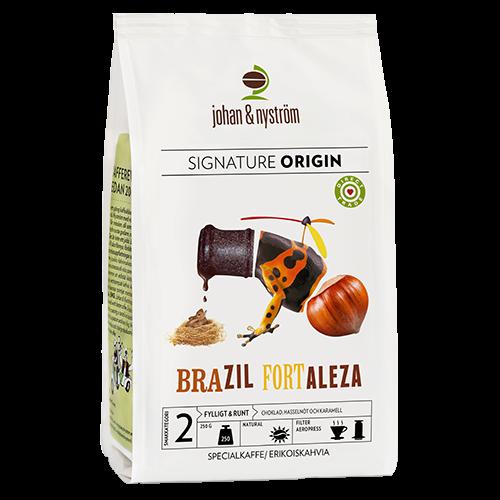 johan & nyström Brazil Fortaleza kaffebønner 250g