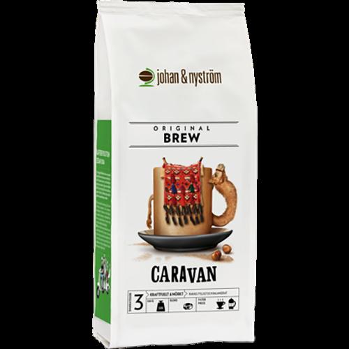 johan & nyström Caravan kaffebønner 500g