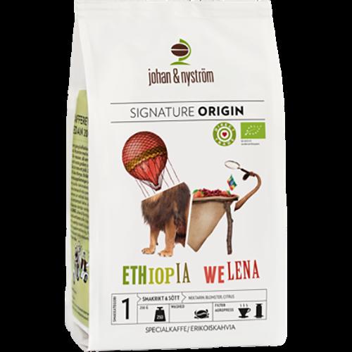 johan & nyström Ethiopia Welena kaffebønner 250g