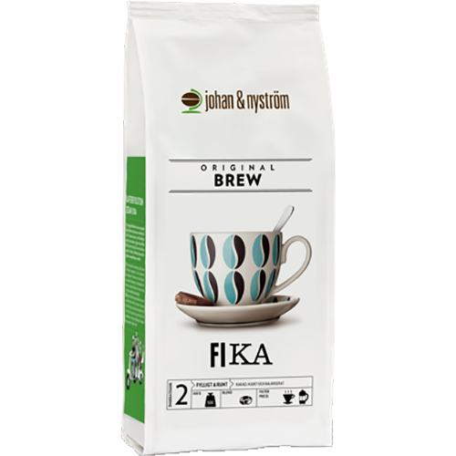 johan & nyström Fika formalet kaffe 500g
