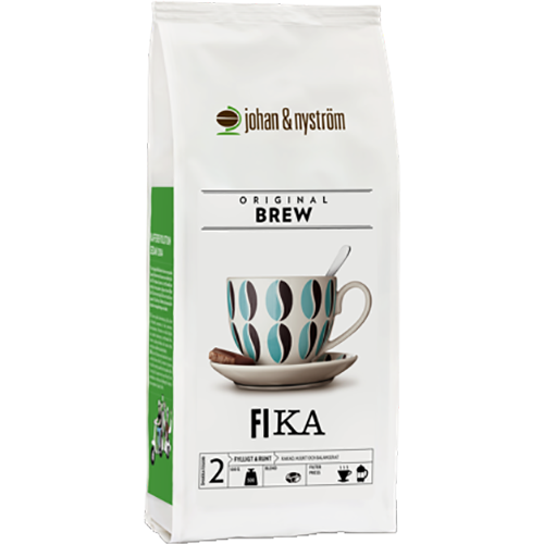 johan & nyström Fika kaffebønner 500g