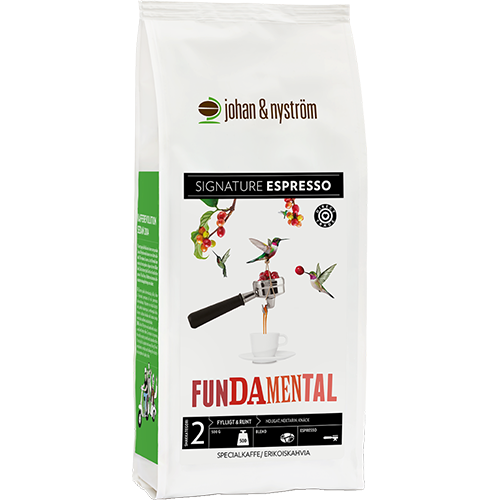 johan & nyström Fundamental kaffebønner 500g