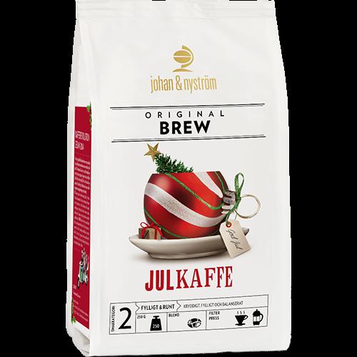 johan & nyström Julekaffe 2018 kaffebønner 250g