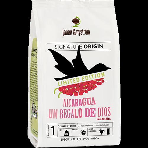 johan & nyström Nicaragua Un regalo de dios kaffebønner 250g