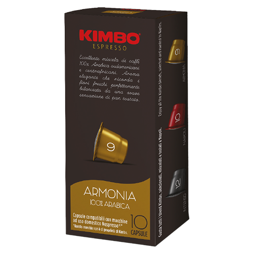 Kimbo Armonia kaffekapsler til Nespresso 10st