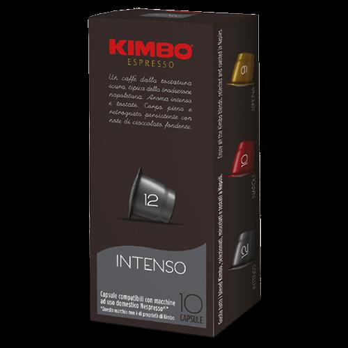 Kimbo Intenso Nespresso kaffekapsler 10st
