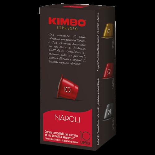 Kimbo Napoli kaffekapsler til Nespresso 10st